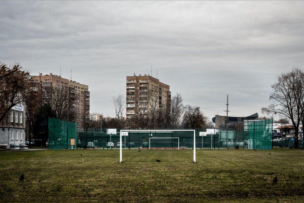 Desolazione a Nowa Huta, Cracovia