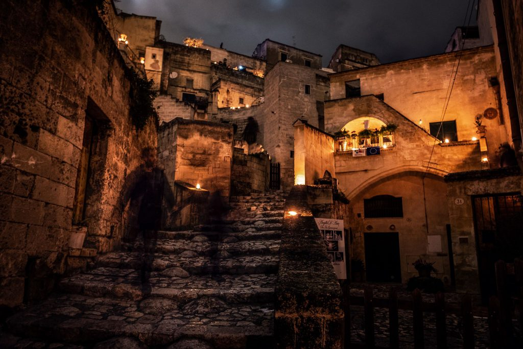 Matera Scale Centro Open Lights