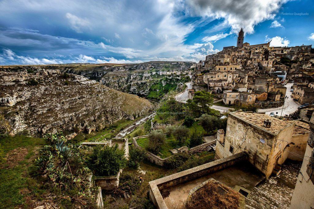 Matera panorama valle
