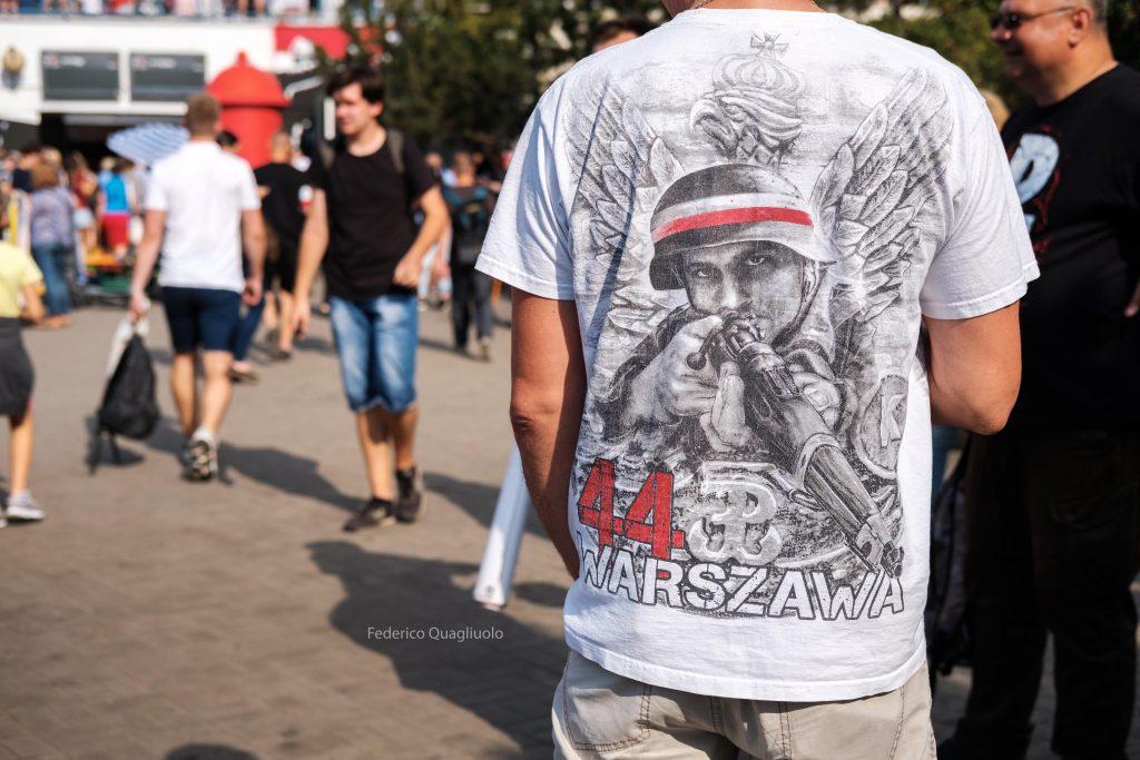 Varsavia manifestante