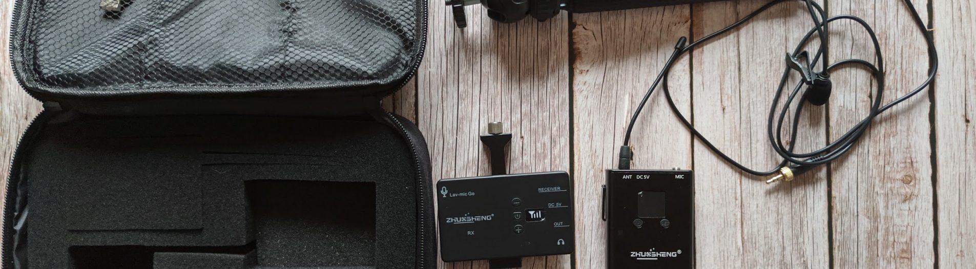 Recensione microfono wireless per cellulari ZHUOSHENG: ne vale la pena?