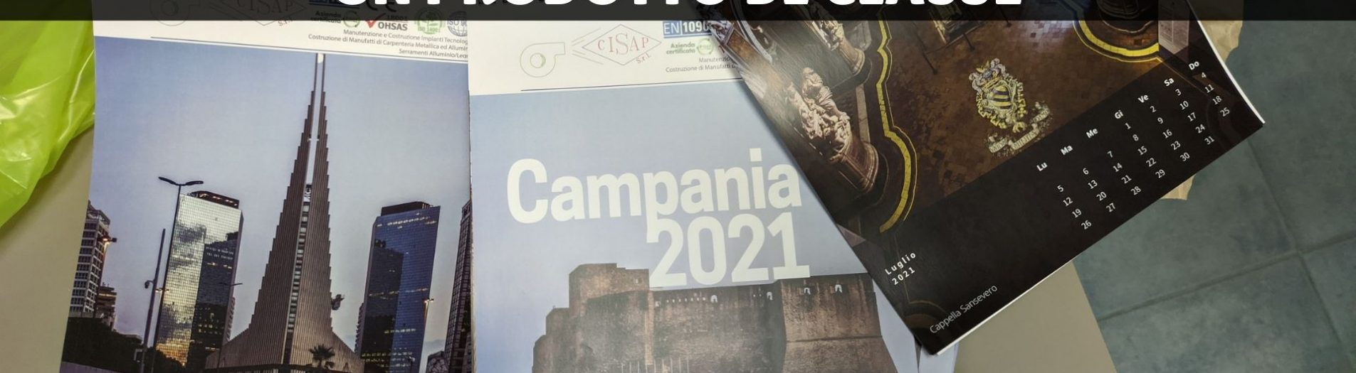 Il calendario fotografico di Napoli: un dono di gran classe